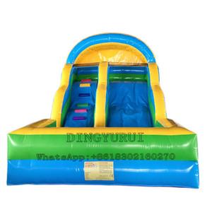 Bouncer inflável água Slide inflável comercial PVC material inflável piscina de água Deslize para Crianças e Adultos