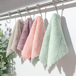 Wholesale Dish Cleaning Cloth Dish Towel Non-stick Oil Rags High Quality Kitchen Cleaning Washing Towel Wiping Rags Scouring Pad BC BH0604