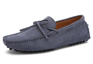 Echtes Leder der heißen Verkauf-Mens beschuht beiläufige Komfortatemschuhe des Veloursleder-Müßiggängers der großen offiziellen Schuhspitzeverzierungsreise-Wegschuhs für Männer