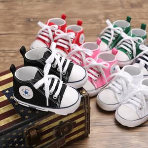 아기 신발 소년 여러 가지 빛깔의 캔버스 prewalk 아기 소프트 하단 어린이 디자이너 유아 신발 유아 여자 디자이너 신생아 유아 키즈 운동화