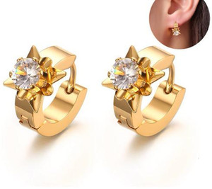 2020 Stud Earrings for Women Gold Color Stainless Steel earings fashion jewelry