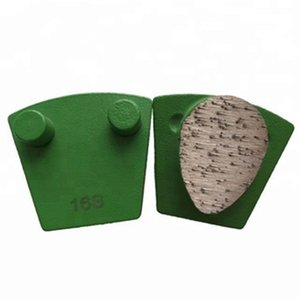 Top Quality Factory Price Diamond Concrete Grinding Tools Single Oval Segment Grinding Shoes Polishing Pad 12PCS