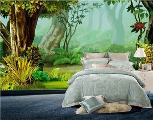 нестандартного размер 3d фото обоев гостиной спальня настенного леса дерево снится 3d картина диван телевизора фон обои нетканого стикер стены