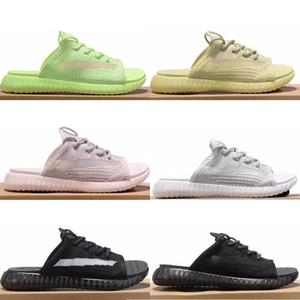 Adidas Yeezy Boost 350 v2 Hot Fashion mens sandali pantofole di design di lusso argilla nera GLOW ANTLIA Venom Synth Lundmark designer donna infradito sandali scarpe scivoli