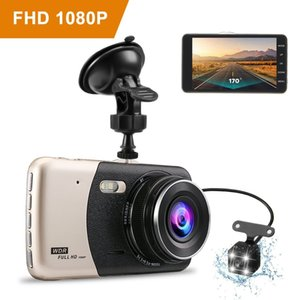 "4.0"" Vehicle 1080P Car DVR Dashboard 32GB DVR Camera Video Recorder Memory Card Dash Cam G-Sensor GPS Free Shipping"