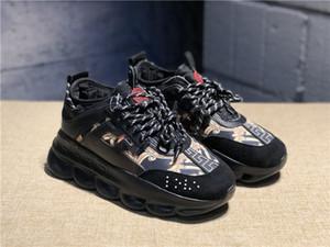 Nuevos zapatos de reacción en cadena Zapatillas Love Ace Zapatillas deportivas de lujo Diseñador de moda Zapatos casuales Entrenador negro Zapatillas ligeras con suela en relieve