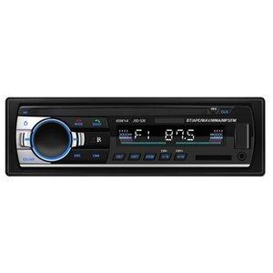 ALLOYSEED JSD-520C-B 1DIN 인 - 대시 자동차 라디오 12V 디지털 블루투스 Autoradio 스테레오 FM AUX 입력 USB 오디오 음악 자동차 MP3 플레이어