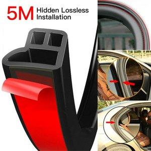 5M Araba L tipi Sızdırmazlık Şerit Araç Kapı Gürültü Kanat Sürüm Anti-çarpışma Modifiye Sızdırmaz Toz Su geçirmez Strip Şeritleri
