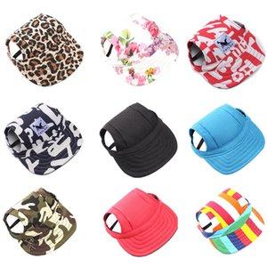 Pet Dog Caps Small Puppy Pets Summer Print Cap Dog Baseball Visor Hat Outdoor Accessories Sun Bonnet Cap Chihuahua Yorkshire #10