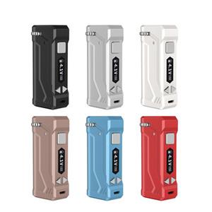 Originale Yocan UNI Pro Tensione Box Mod 650mA Preriscaldare batteria regolabile E Cigarette Fit Tutte le cartucce Carrelli con micro caricatore USB DHL