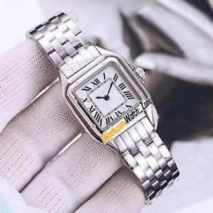 New 22mm Small Panthere de WSPN0006 Swiss Quartz Womens Watch White Dial Stainless Steel Bracelet Fashion Ladies Watches Watch_Zone 8 Color