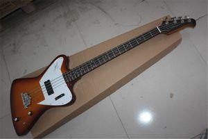 Free shipping Factory Custom Smoke color Thunder bird 4 strings bass guitar Electric guitar