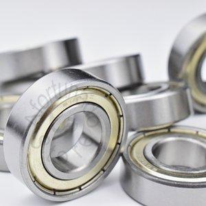 6002ZZ 1 peça rolamentos de vedação de metal Frete grátis 6002 6002Z 6002ZZ 15 * 32 * 9mm aço cromo rolamento rígido