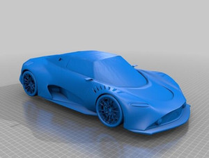 EVO Super Sports Car Custom order high quality high precision digital models 3D printing service Funny Toys ST6131