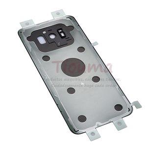 New S8 Plus Battery Back Glass Cover For Samsung S8 G950 G950F   S8+ G955 G955F Back Door Battery Housing