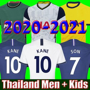19 20 21 KANE SON Bergwijn NDOMBELE Футбол Трикотажные 2019 2020 2021 LUCAS SPURS DELE TOTTENHAM Джерси Футбольная форма рубашки мужские и KIDS KIT НАБОРЫ