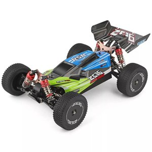 Wltoys 144001 1 14 2.4G Buggy 4WD High Speed Vehicle Models 60km h Racing 550 Motor RC Off-Road Car RTR Y200317
