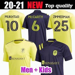 2020 Nashville SC casa lontano calcio del pullover bambini MUKHTAR Badji Lovitz MCCARTY GODOY BECKELES Mens kit 20 21 CAMICIE JERSEY MLS CALCIO