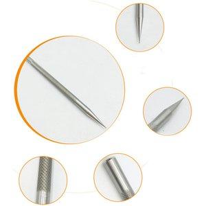 Edelstahl Leder Carving Linie Stift Vorlage Kunst Muster Markierung Taschen Positionierung Ritzstift für DIY Leathercraft Werkzeug
