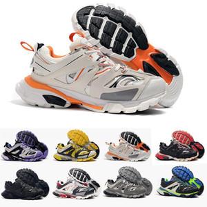فاخر مصمم المسار الإصدار 3 .0 تيس S باريس الثلاثي S احذية واضح وحيد مصمم رجالي أحذية للسلال النساء الرجال حذاء رياضة مدرب