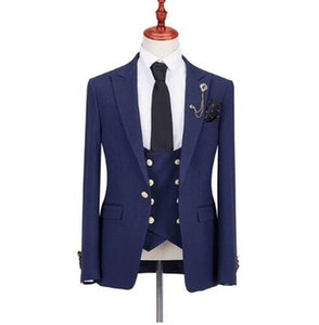 2019 man suit for wedding evening party satin shawl lapel classic jacket slim fit formal tuxedos custom blazer 3 pieces
