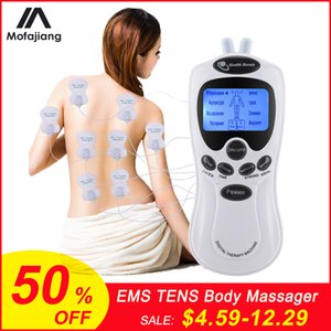 elaxation Treatments TENS Body Massager Digital Acupuncture EMS Therapy Device Electric Pulse Massager Muscle Stimulator Pain Relief Phys...