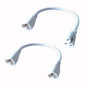 T5 T8 Bağlayıcı Kablo 20cm Erkek-Erkek Erkek-Dişi Uzatma Kabloları İçin Entegre Led Tüp