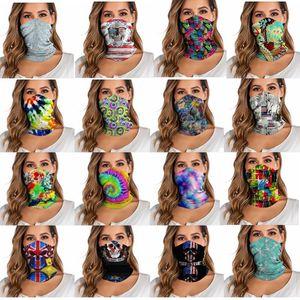 Magie einen.Kreislauf.durchmachenschal Maske Kopftuch Variety Turban Digital gedruckte Neuheit Bandanas Magie Stirnband Multifunktionshauptschal YP784