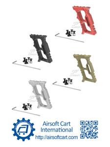 ACI 헤일로 Minivert 각도 그립 keymod MLOK MLOK 경량에 대한 전방 손잡이 손 정지 Handstop (블랙 / 레드 / 탄 / 실버)