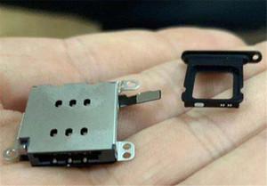 10 Ensemble / lot 2 en 1 pour iPhone XR double lecteur de carte SIM avec Flex Câble + SIM Carte Plateau Titulaire Slot Adaptateur remplacement