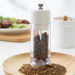 Manual Condiment Grinder Kitchen Pepper Household Plastic Sesame Grinding Bottle Other Kitchen Tools
