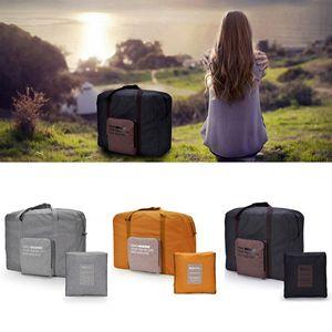 NOUVEAU Showerproof unisexe pliant bagages à main Voyage boîte de rangement à bagages Sac de toilette Kit Accessoires Voyage Livraison gratuite