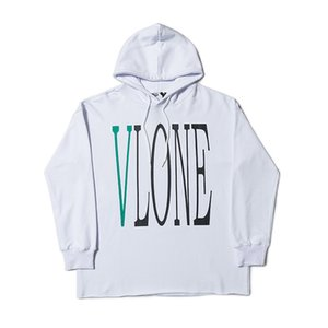 Vlone Stylist Hoodies Mens Hip Hop Sweat Vlone Stylist Letter Print Hoodies Men Women Stylist Sweatshirt Size S-XL