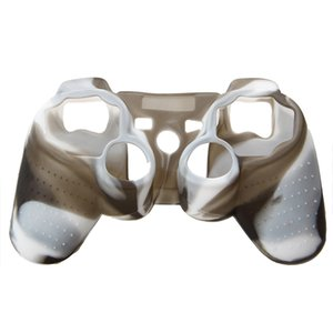 2020 High Quality Premium Super Grip Glow Silicon Protective Skin Case Cover for PS3 Remote Controller