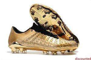 2019 crampons de football d'origine Hypervenom Phantom 3 III FG bas top bottes de chaussures de Neymar football originaux pour hommes authentiques chaussures de football hommes
