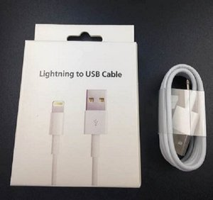 1M 3FT USB Cable Charger Cord Sync Data Line With Retail Box Package Charging for iPhone7 i 5 6 7 8 X XS i6 i8 ipad