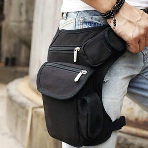 2020 cross-border hot sale multi-function outdoor cotton sports leg bag canvas waist bag money belt waist bag camouflage
