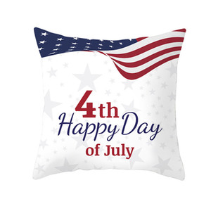27 estilos Americano Independence Day Fronha Sofá Capa de Almofada Home Decor Assento Fronha América Bandeira Lance Fronha 45 * 45 cm FFA2067