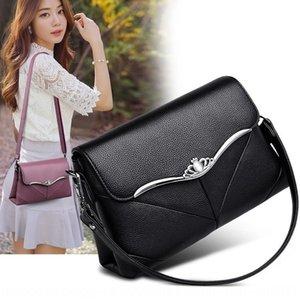 Women's Shoulder small square 2020 Women's all-match shoulder diagonal small square bag soft leather Hand bag bag