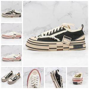 Lujo XVessel G.O.P. Lows zapatos de lona para hombre de las mujeres de calidad superior diseñador de moda buque Tripe S pieza por pieza velocidad zapatos casuales