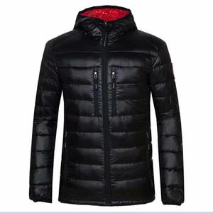 Kanada Stil kaz Down Jacket Kış Sıcak Parka Erkekler Kanada Ceket Açık Man kaliteli Coats gerçek resimler M-3XL var