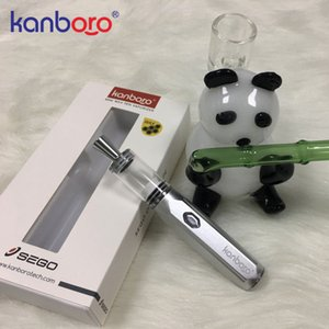 2019 porte DH vente chaude Vaporisateur herbe sèche haute qualité mini-dab cire stylo kit e-cigarette kanboro Sego
