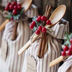 Fiesta de cumpleaños de la flor de cerezo precioso Parte decoración artificial de la fruta boda Adornos de Navidad Decoración de la fruta de la simulación