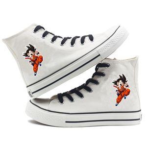 scarpe Japannes Anime Dragon Ball tela delle donne degli uomini del fumetto della tela Cosplay scarpe causale Shoes