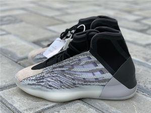 Quantum authentiques Chaussures de basket Hommes Femmes Mafia EG1535 Kanye West coureur de vague 3M réfléchissant Chaussures de sport de sport avec la boîte originale 36-47