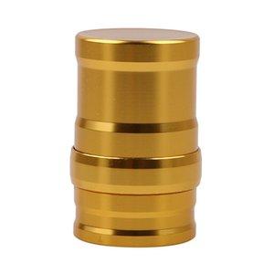 Siliver / Golden Protable mini métal aluminium lampe à alcool lampe à alcool bon marché pour tuyau de bong