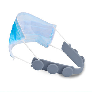 Máscara caliente orejeras Artefacto máscara de la cuerda de extensión de TPU hebilla ajustable antideslizante Máscara del oído Grip extensión del gancho de retención ecológico