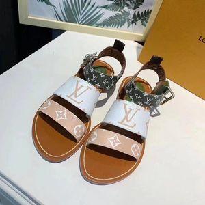 Nouvelles dames été sandales gladiateur anti-glisse à séchage rapide pantoufles extérieures plage fashion designer de luxe dames sandales 09 yards 35-41