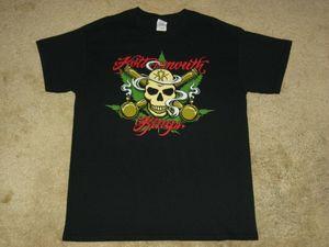 Kottonmouth Kings Череп Crossbongs Большая Черная футболка