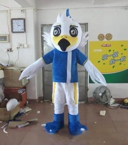 2019Discount fábrica de venda Adulto bonito cartoon marca Blue Eagle Mascot Máscara